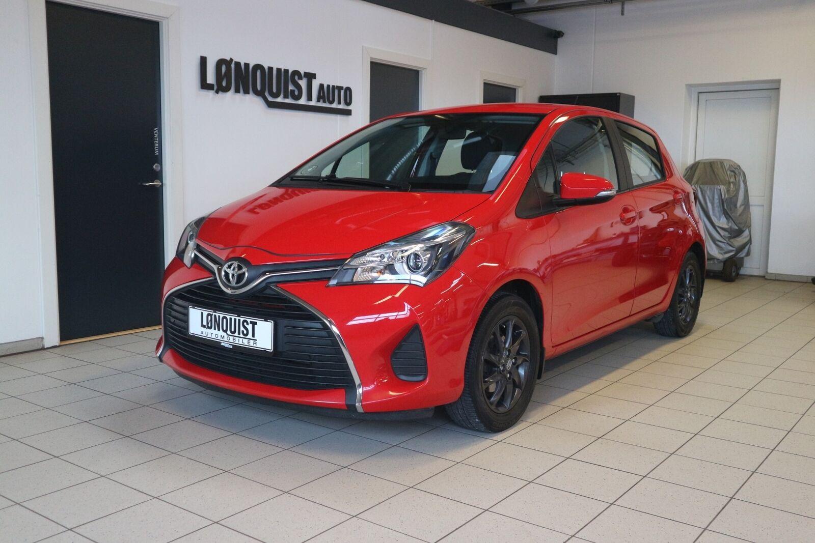 Toyota Yaris 1,3 VVT-i T2 5d - 104.900 kr.