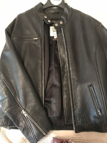 wilsons leather jacket mens xl
