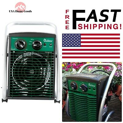 Greenhouse Portable Heater 1500-W Garage Workshop Winter ...