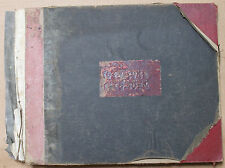 LOEW'S ORIENTAL THEATER, BROOKLYN LEDGER / ACCOUNTING BOOK, 1943-1945