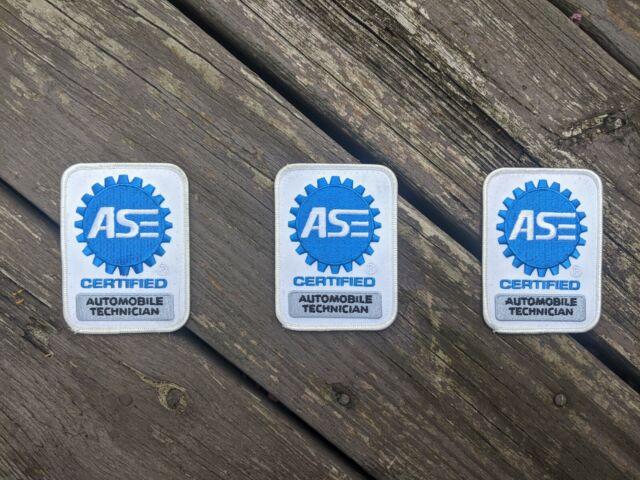 ase patch automotive technician certified authentic