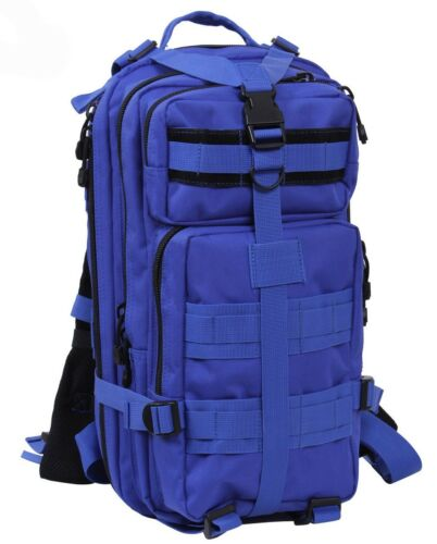 Medium Transport Pack Backpack Tactical Military Style Royal Blue Rothco 2581
