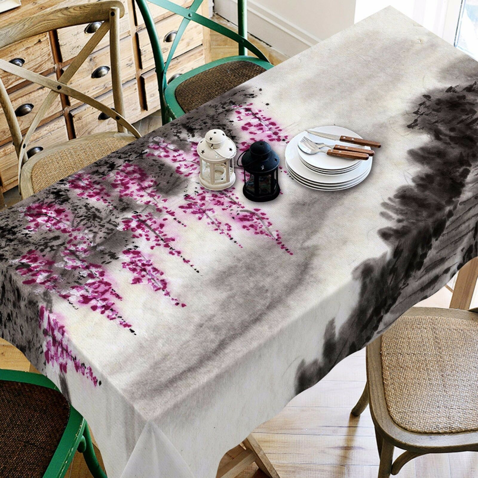 3D Tree  4273 Tablecloth Table Cover Cloth Birthday Party Event AJ WALLPAPER AU