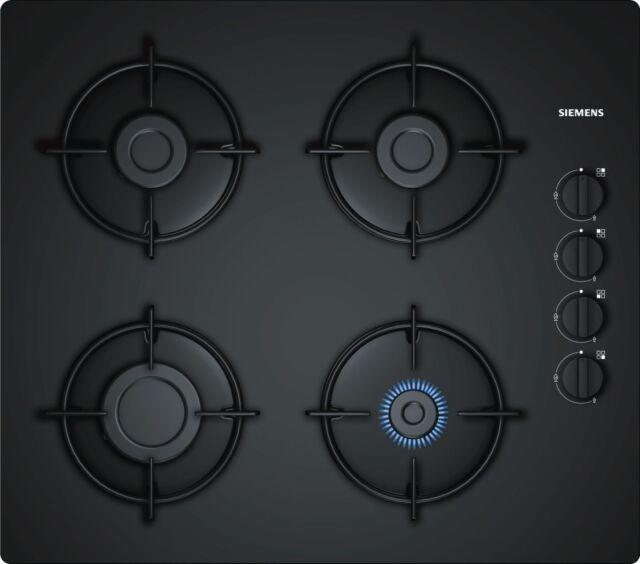 SIEMENS EO6B6PB10 60cm Black Ceramic Glass Kitchen Gas Hob Brand New !!