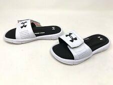New Boy/'s Youth Under Armour 1287320-001 Ignite V Slide Sandals Black C6