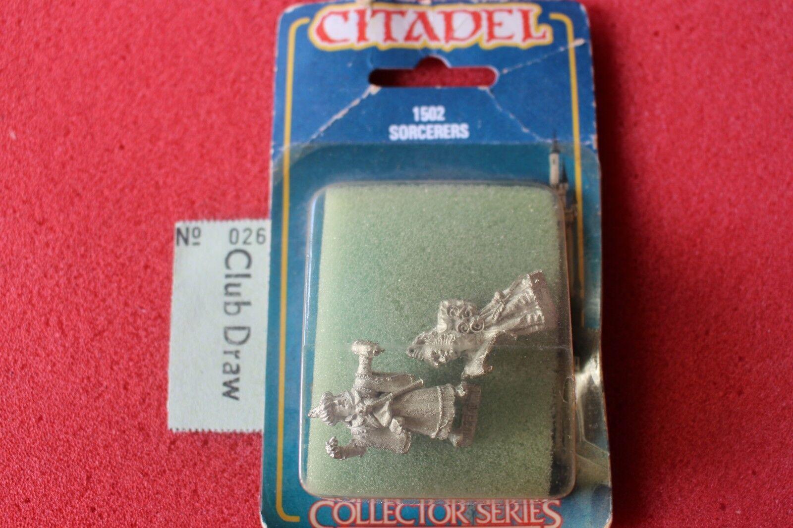 Citadel Collectors Series Sorcerers Wizards Mage Games Workshop Metal Figures GW