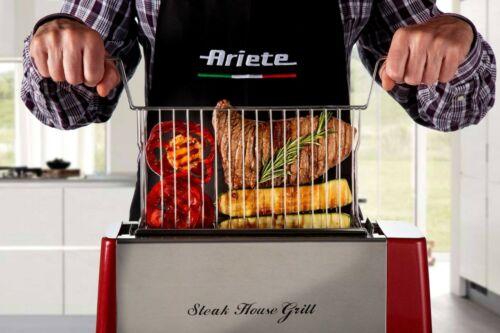 ARIETE 0730 STEAK HOUSE GRILL Griglia Verticale per Bistecche Verdure Pesce Pane