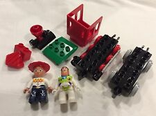 LEGO DUPLO 5659 TOY STORY THE GREAT TRAIN CHASE PARTIAL JESSIE BUZZ LIGHTYEAR