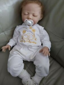 Paradise Galleries Newborn Reborn Doll With Magnetic Pacifier, Wishes and Dreams