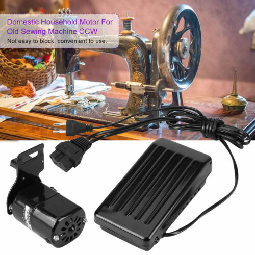 180W Universal Home Nähmaschine Motor FußPedal Regler CCW 10000R//MIN 220V 0.9A