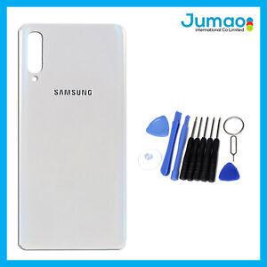 Vitre-arriere-capot-cache-batterie-Blanc-avec-Adhesif-Pour-Samsung-Galaxy-A50