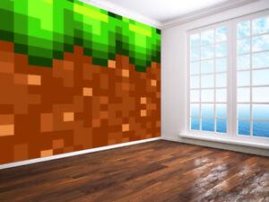 Doe-het-zelf 43525828 Cool view of a mine entrance stunning timbers wallpaper wall mural