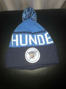 9dc18d387546a2 Oklahoma City Thunder Mitchell & Ness Beanie Knit One Size Fits All ...