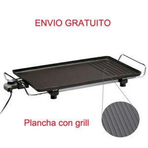 PLANCHA-ASAR-GRILL-ELECTRICO-2000W-PLACA-DE-ACERO-MANGO-DE-METAL-ANTIDESLIZANTE