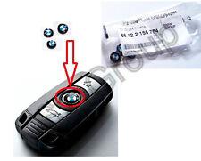 BMW E87 E88 E90 E91 ORIGINALE EMBLEMA LOGO CHIAVE 66122155754 11mm