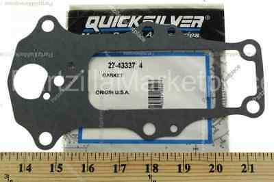 New Mercury Mercruiser Quicksilver Oem Part # 27-43337  4 Gasket