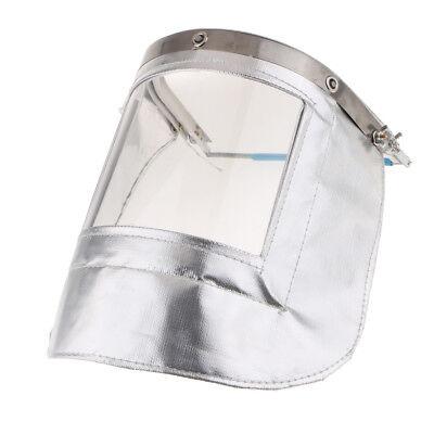 Fireproof Mask Headgear High Temperature Resistant UV Resistance f// Welding