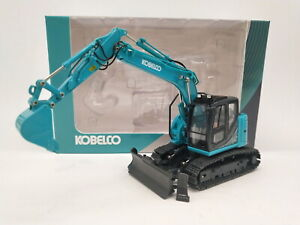 ROS-1-50-KOBELCO-ED160BR-5-Ultra-Small-Round-Excavator-Geen-Diecast-Model-Toy