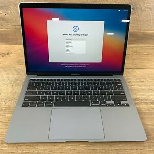 Apple MacBook Air 13in 2020 Space Gray Intel Core i3 1.1 GHz 8GB RAM 256GB A2179