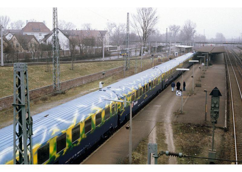 Z 87300 vagoni-Set touristikzug delle DB AG Merce Nuova