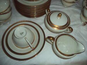 Servizio tè in porcellana per 12 persone Vintage anni 50 Tirschenreuth Bavaria - Italia - Servizio tè in porcellana per 12 persone Vintage anni 50 Tirschenreuth Bavaria - Italia