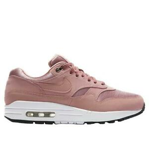 Nike Air Max 1 SP Essentials GS Officiel Nike pour Femme Noir rose 319986 602 1711090306 Officiel de Chaussure Nike 2017 France Ml Plus.Fr
