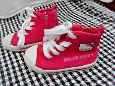 Talla 6 Rosa Hello Kitty bombas de arranque de béisbol/caña en muy buena condición