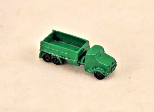 1//12 scale dollhouse cast metal miniature ISL2913 Toy Green Truck