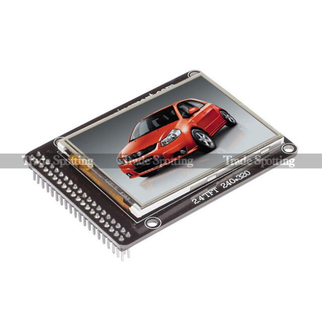 "SainSmart 2.4 2.4"" TFT LCD Screen For Arduino Due UNO Mega2560 R3 Raspberry Pi"