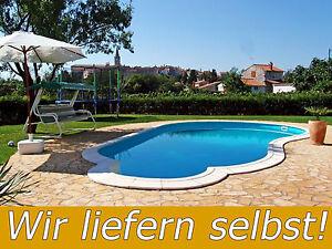 Naturstein Terrassenplatten Polygonalplatten Kroatien Swimming Pool