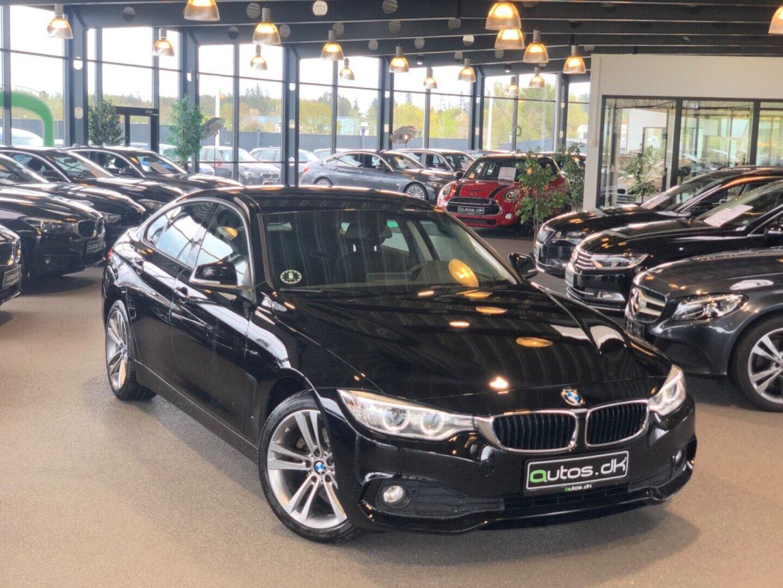 BMW 420d 2,0 Gran Coupé aut. 5d - 284.000 kr.