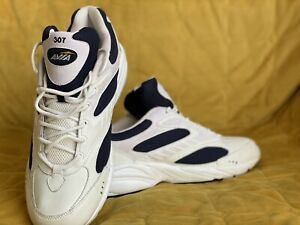 Avia  Cross Training White Navy Grey Sneakers Shoes 13 Trainers Mens