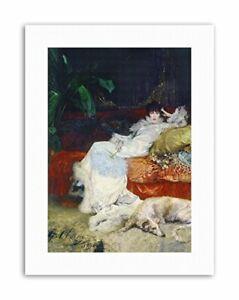 HENDERSON-ACTRESS-SARAH-BERNHARDT-Painting-Portrait-Canvas-art-Prints