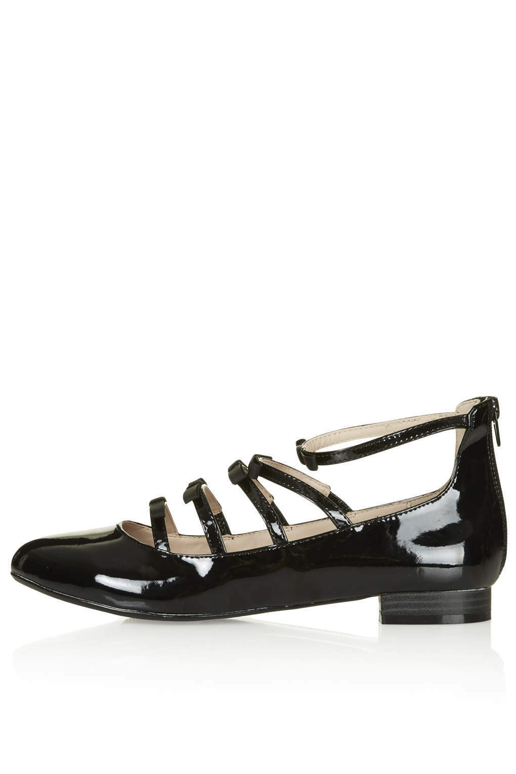 Brand New TOPSHOP SOPHIE bow shoes UK 3 in Black