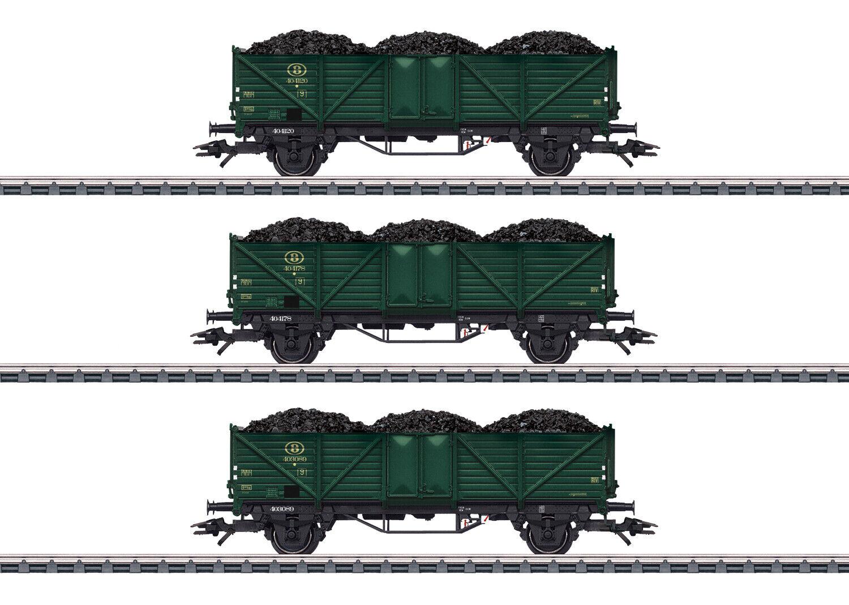 marklin 46029 alto bordo autorelloSet delle SNCB 3 pezzi con autoico autobone  neu IN SCATOLA ORIGINALE