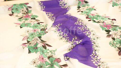 Designer Stoff Bedruckter CHIFFON Stoff Kleiderstoff Stoff KT190