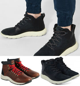 Details about Mens Timberland Flyroam Leather Chukka Boots Aerocore Sneaker Boots NEW