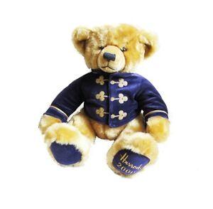 2000 HARRODS Annual Christmas Teddy Bear - Collectable Birthday Anniversary Baby