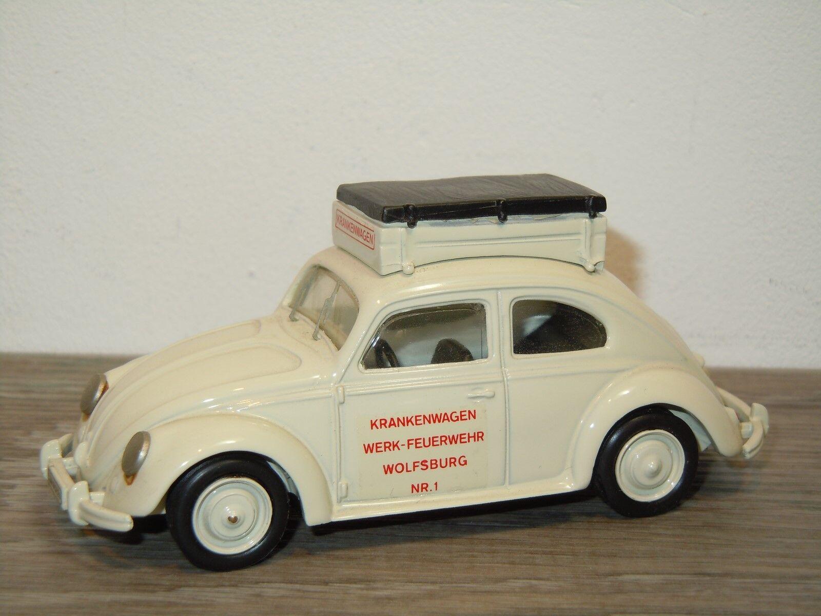 VW Volkswagen Beete Krankenwagen Wolfsburg - AMR Century France 1 43 35085