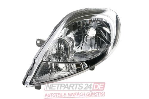 Blinker Weiß Nissan Primastar 06 lagernd Scheinwerfer Frontscheinwerfer H4 lin