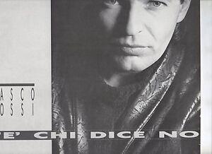 VASCO-ROSSI-disco-LP-33-giri-C-039-E-039-CHI-DICE-NO-MADE-in-GREECE-1987-stampa-GRECA