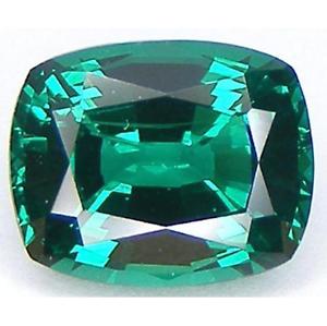 5x3-30x20 Lab-Created Emerald Green Nano Crystal Elongated Cushion Loose Stones