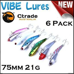 Fishing-Switchblade-Blade-VIBE-Metal-Lures-75mm-Flathead-Bream-Snapper-Jewfish