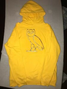 Details about SIZE M, XL Drake OVO Yellow OG Gold Owl Embroidered Hoodie 2017 Summer