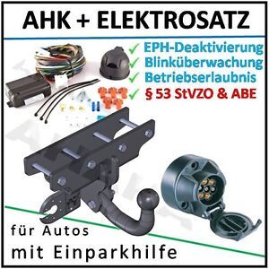 komplett E-satz AHK /& ES7 Jeep Wrangler III JK Bj ab 2007 Anhängevorrichtung