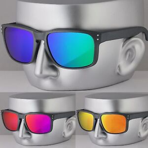 b98a7afbd93 Image is loading New-Mens-Rectangle-Shield-Sports-Casual-Sunglasses-UV400
