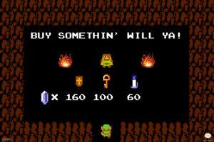 Buy-Somethin-Will-Ya-Legend-of-Zelda-Shop-Nintendo-Poster-12x18-Inch