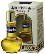 Blessed Certified Light of Jerusalem Church Israel Holy Anointing Oil 0.27oz