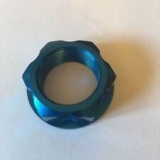 YAMAHA YZF 450  2003-2016  ZETA STEERING STEM HEADSTOCK NUT ANODIZED BLUE