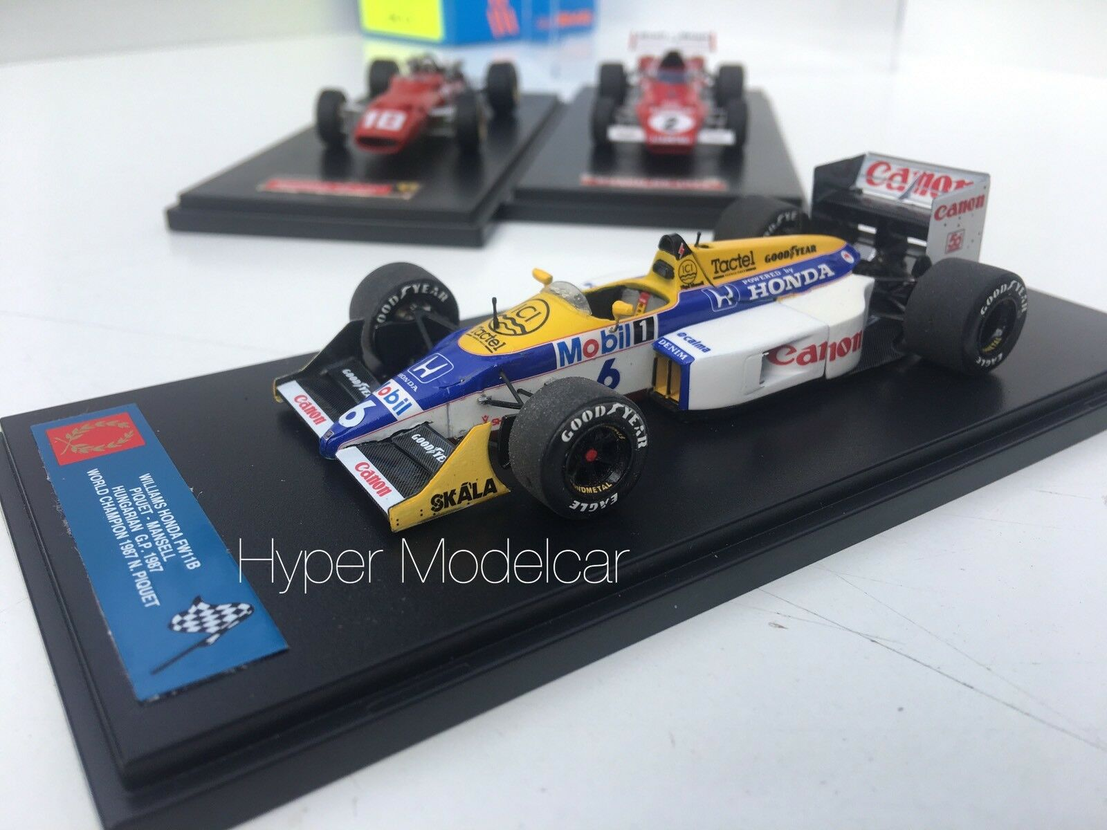 Tameo Kit 1 43 F1 Williams Honda FW11B  6 Hungarian Gp 1987 N. Mansell